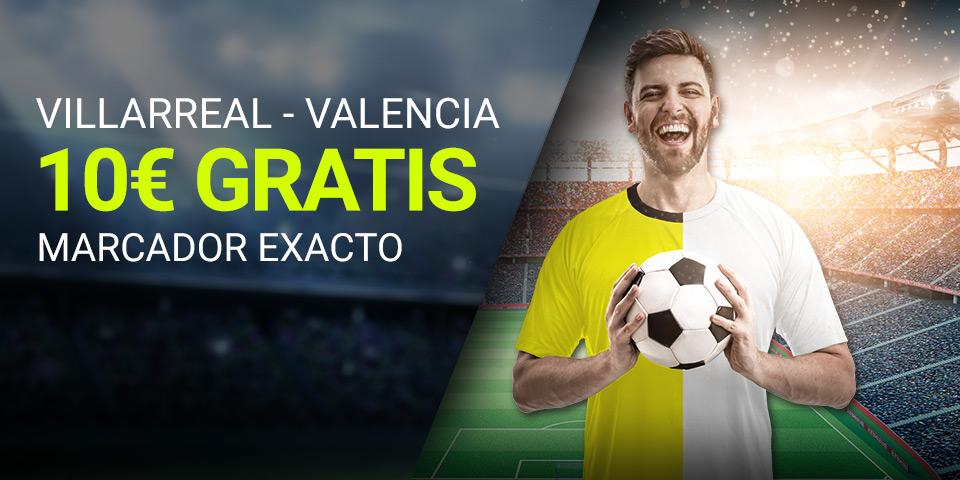 Luckia: Villarreal vs. Valencia. Apuesta segura
