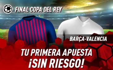 Sportium: FC Barcelona vs. Valencia. Tu apuesta ¡¡¡SIN RIESGO!!!