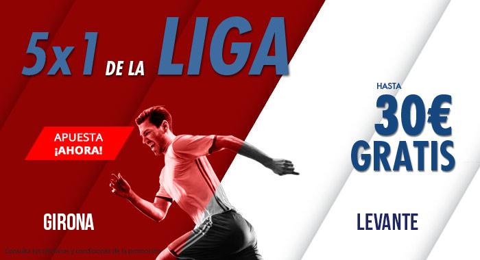Suertia: Girona vs. Levante. Haz tu apuesta y llévate hasta 30€ GRATIS