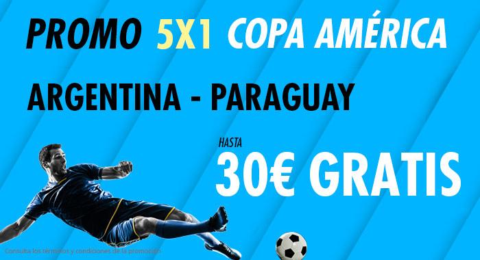 Suertia: Argentina vs. Paraguay. Haz tu apuesta y llévate hasta 30€ GRATIS