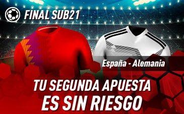 Sportium: España Sub21-Alemania Sub21. Tu 2ª apuesta ¡¡¡SIN RIESGO!!!