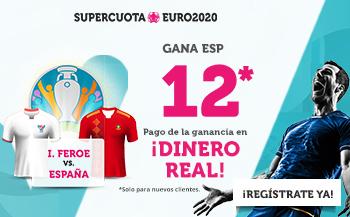 Wanabet: Islas Feroe vs. España @12.0 + 100€