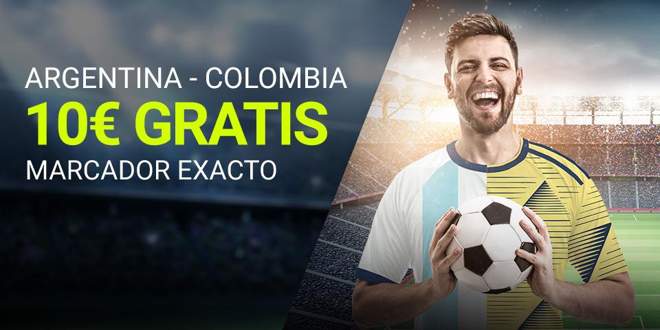 Apuestas Marcador Argentina Colombia