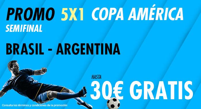 Suertia: Brasil vs. Argentina. Haz tu apuesta y llévate hasta 30€ GRATIS