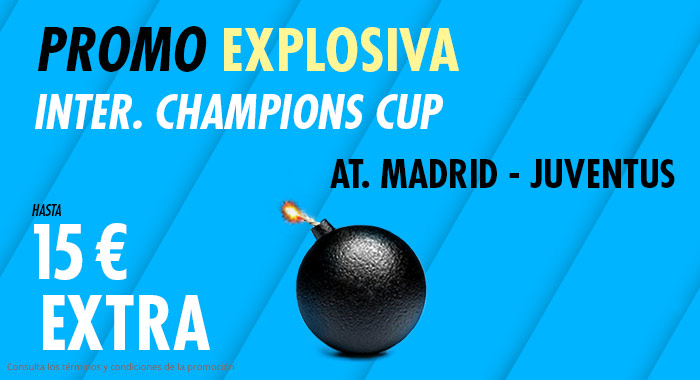 Suertia: At. Madrid vs. Juventus. Llévate 15€ EXTRA con tu apuesta