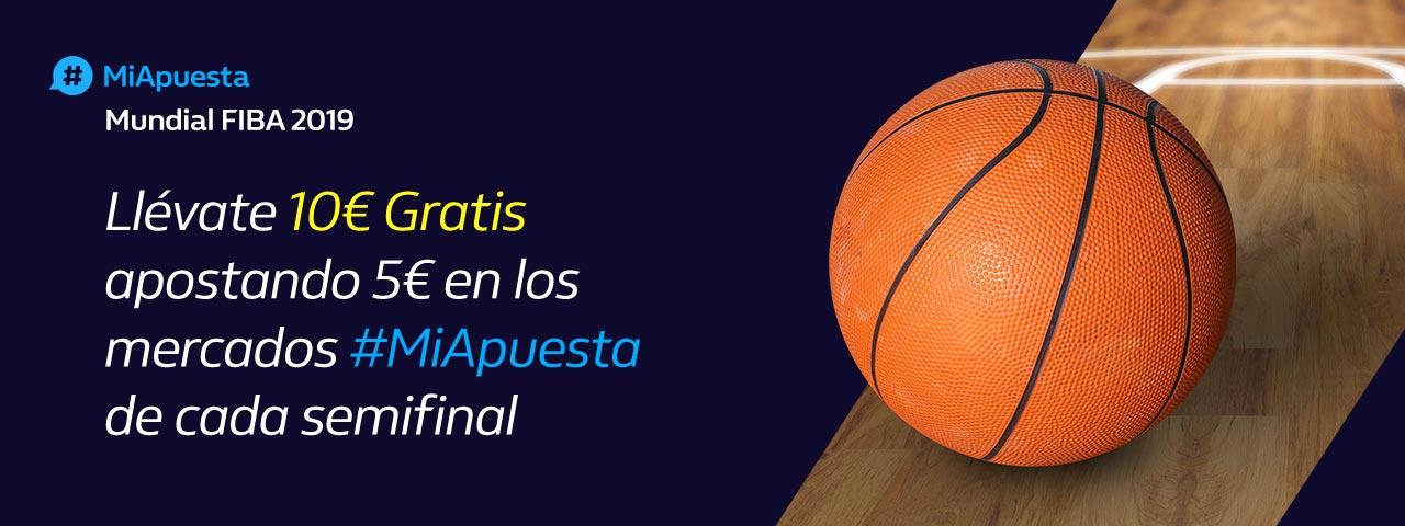William Hill: Semifinales Mundial Baloncesto. #MiApuesta Llévate 10€ GRATIS