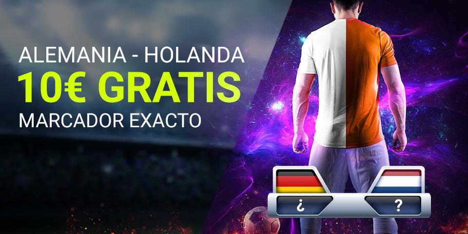 Luckia: Alemania vs. Holanda. Apuesta segura