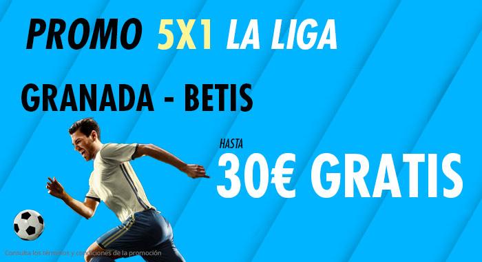 Suertia: Granada - Betis. Haz tu apuesta y llévate hasta 30€ GRATIS