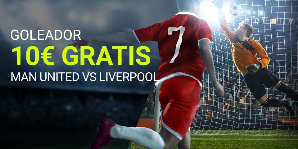 Luckia: Man. United vs. Liverpool. Apuesta seguro