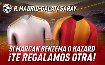 Sportium: Real Madrid vs. Galatasaray. Si marcan Benzema o Hazard ¡Te damos otra!