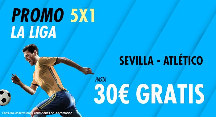 Suertia: Sevilla – At. Madrid. Haz tu apuesta y llévate hasta 30€ GRATIS