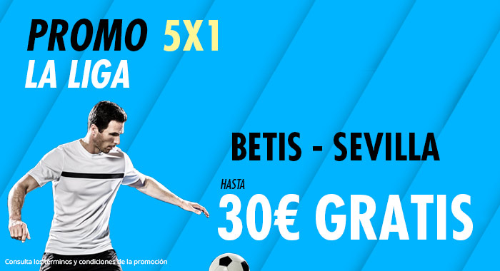 Suertia: Betis - Sevilla. Haz tu apuesta y llévate hasta 30€ GRATIS