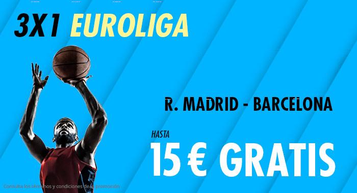 Suertia: Real Madrid vs. FC Barcelona. Haz tu apuesta y llévate hasta 15€ GRATIS