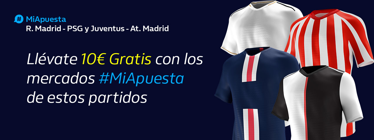 William Hill: Real Madrid + At. Madrid. #MiApuesta Llévate 10€ GRATIS