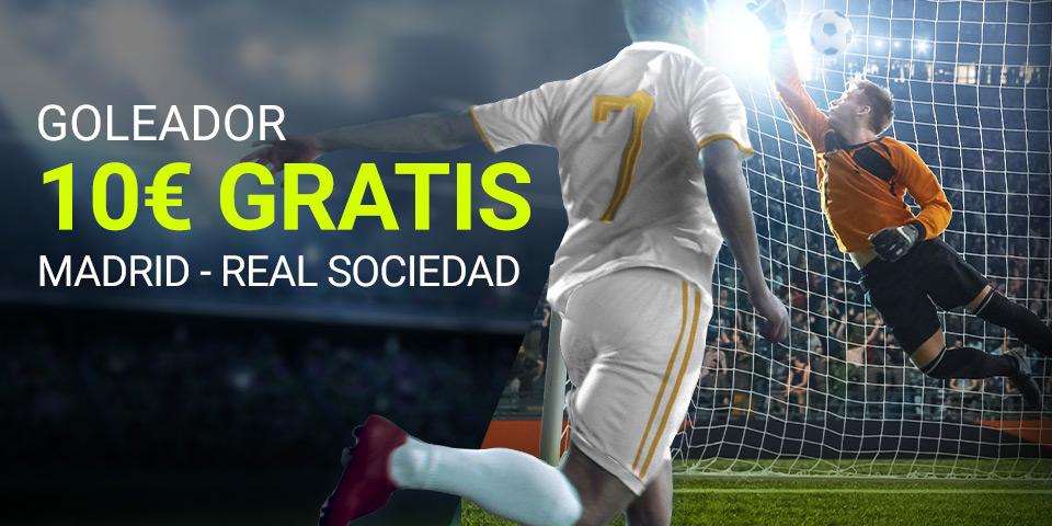 Luckia: Real Madrid – Real Sociedad. Apuesta seguro