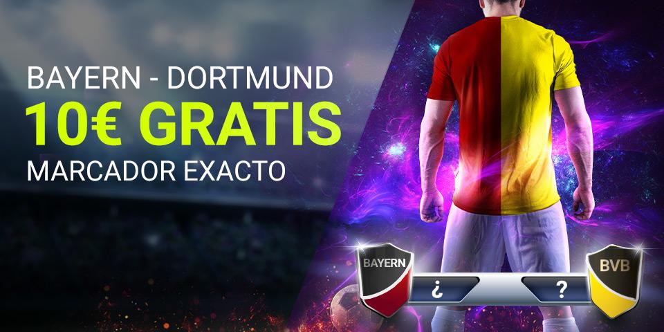 Luckia: Bayern Munich - Borussia Dortmund. Apuesta segura