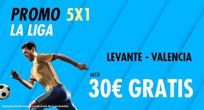 Suertia: Levante - Valencia. Haz tu apuesta y llévate hasta 30€ GRATIS